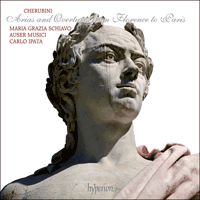 Cover of CDA67893 - Cherubini: Arias and Overtures from Florence to Paris