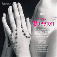 Cover of CDA67901/2 - Bach: St John Passion