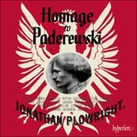 Cover of CDA67903 - Homage to Paderewski