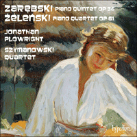 Cover of CDA67905 - Zarebski: Piano Quintet; Zelenski: Piano Quartet