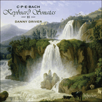 Cover of CDA67908 - Bach (CPE): Keyboard Sonatas, Vol. 2