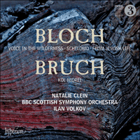 Cover of CDA67910 - Bloch: Schelomo & Voice in the Wilderness; Bruch: Kol Nidrei