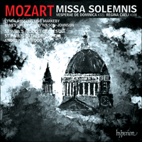 Cover of CDA67921 - Mozart: Missa solemnis & other works