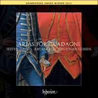 Cover of CDA67924 - Arias for Guadagni
