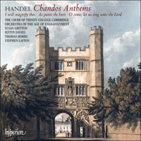 CDA67926 - Handel: Chandos Anthems Nos 5a, 6a & 8