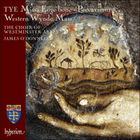 Cover of CDA67928 - Tye: Missa Euge bone & Western Wynde Mass