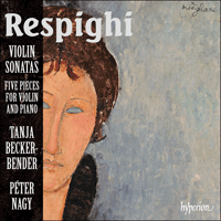 Cover of CDA67930 - Respighi: Violin Sonatas