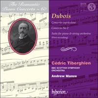 CDA67931 - Dubois: Piano Concertos