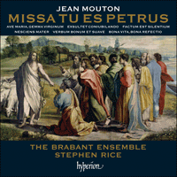 Cover of CDA67933 - Mouton: Missa Tu es Petrus & other works