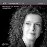 Cover of CDA67934 - Liszt: The Complete Songs, Vol. 2 � Angelika Kirchschlager