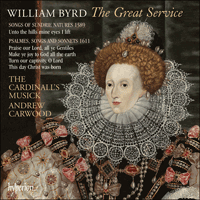 Cover of CDA67937 - Byrd: The Great Service & other English music