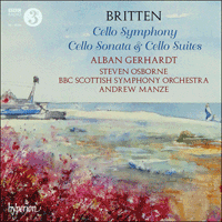 Cover of CDA67941/2 - Britten: Cello Symphony, Cello Sonata & Cello Suites