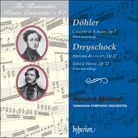 CDA67950 - Döhler: Piano Concerto; Dreyschock: Salut à Vienne