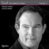 CDA67956 - Liszt: The Complete Songs, Vol. 3 - Gerald Finley