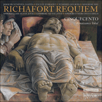 Cover of CDA67959 - Richafort: Requiem & other sacred music