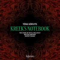 CDA67968 - Kõrvits: Kreek's Notebook