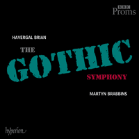 Cover of CDA67971/2 - Brian: Symphony No 1 'The Gothic'