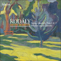 CDA67999 - Kod�ly: String Quartets, Intermezzo & Gavotte
