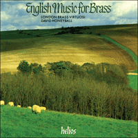 Cover of CDH88013 - English music for brass