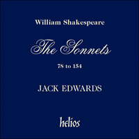 Cover of CDH88022 - Shakespeare: The Sonnets, Vol. 2