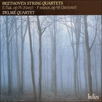 Cover of CDH88032 - Beethoven: String Quartets Opp 74 & 95