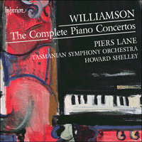 CDA68011/2 - Williamson: The Complete Piano Concertos