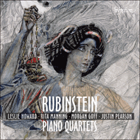 CDA68018 - Rubinstein: Piano Quartets