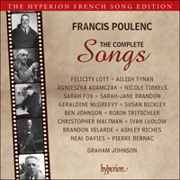 CDA68021/4 - Poulenc: The Complete Songs