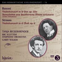 CDA68044 - Busoni & Strauss: Violinkonzerte