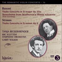 CDA68044 - Busoni & Strauss: Violin Concertos