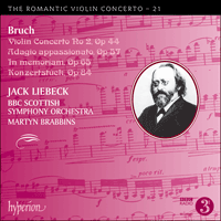 CDA68055 - Bruch: Violin Concerto No 2 & other works