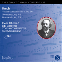 CDA68060 - Bruch: Violin Concerto No 1 & other works