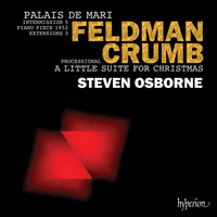 CDA68108 - Feldman: Palais de Mari; Crumb: A Little Suite for Christmas