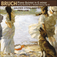 CDA68120 - Bruch: Piano Quintet & other works