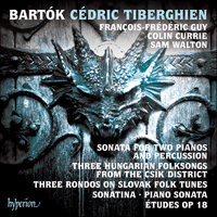 CDA68153 - Bartók: Sonata for two pianos and percussion & other piano music