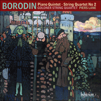 CDA68166 - Borodin: Piano Quintet & String Quartet No 2