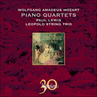 Cover of CDA30011 - Mozart: Piano Quartets