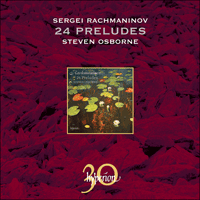 Cover of CDA30015 - Rachmaninov: 24 Preludes