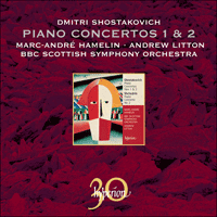Cover of CDA30023 - Shostakovich & Shchedrin: Piano Concertos