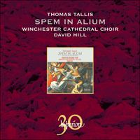 Cover of CDA30024 - Tallis: Spem in alium & other choral works