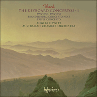 Cover of SACDA67307 - Bach: The Keyboard Concertos, Vol. 1