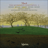 Cover of SACDA67308 - Bach: The Keyboard Concertos, Vol. 2