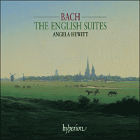 Cover of SACDA67451/2 - Bach: The English Suites