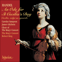 Cover of SACDA67463 - Handel: An Ode for St Cecilia�s Day