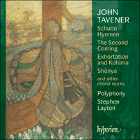 Cover of SACDA67475 - Taverner: Choral Music