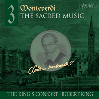 Cover of SACDA67487 - Monteverdi: The Sacred Music, Vol. 3