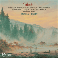Cover of SACDA67499 - Bach: Fantasia, Aria & other works