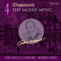 SACDA67519 - Monteverdi: The Sacred Music, Vol. 4