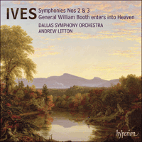 Cover of SACDA67525 - Ives: Symphonies Nos 2 & 3