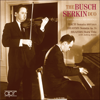 APR5528 - The Busch-Serkin Duo � Unpublished Recordings